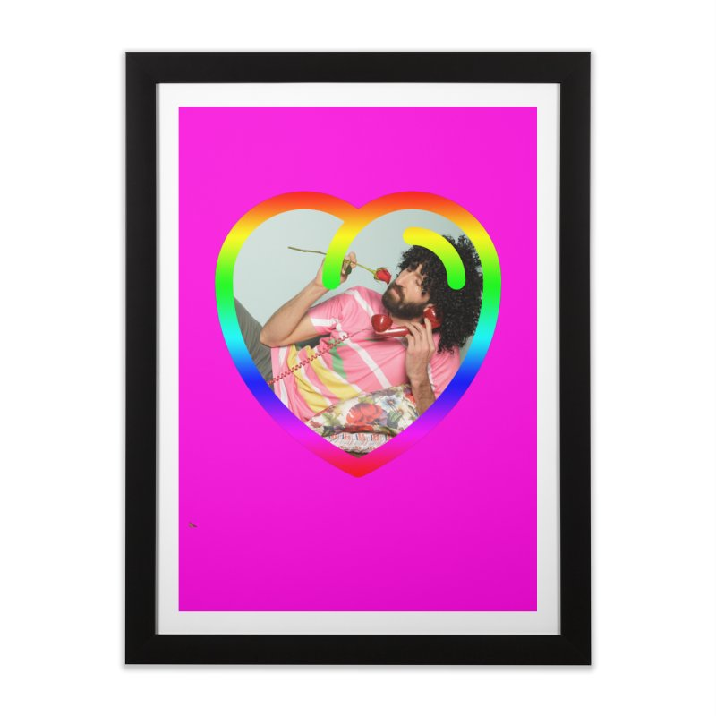 TALK TO ME LIKE LOVERS DO! Home Framed Fine Art Print by Robotboot Artist Shop