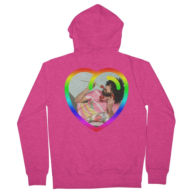 TALK TO ME LIKE LOVERS DO! Women's Zip-Up Hoody by Robotboot Artist Shop