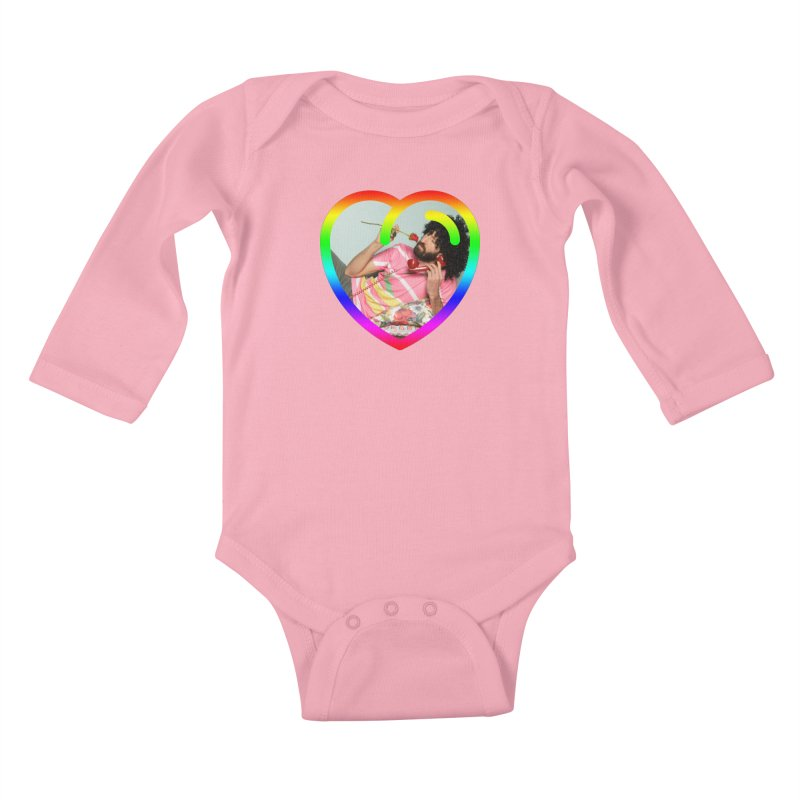 TALK TO ME LIKE LOVERS DO! Kids Baby Longsleeve Bodysuit by Robotboot Artist Shop
