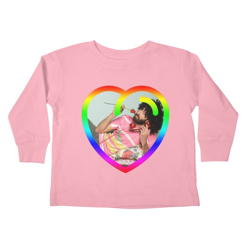TALK TO ME LIKE LOVERS DO! Kids Toddler Longsleeve T-Shirt by Robotboot Artist Shop