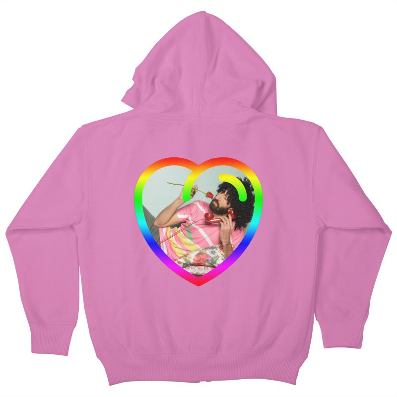 TALK TO ME LIKE LOVERS DO! Kids Zip-Up Hoody by Robotboot Artist Shop