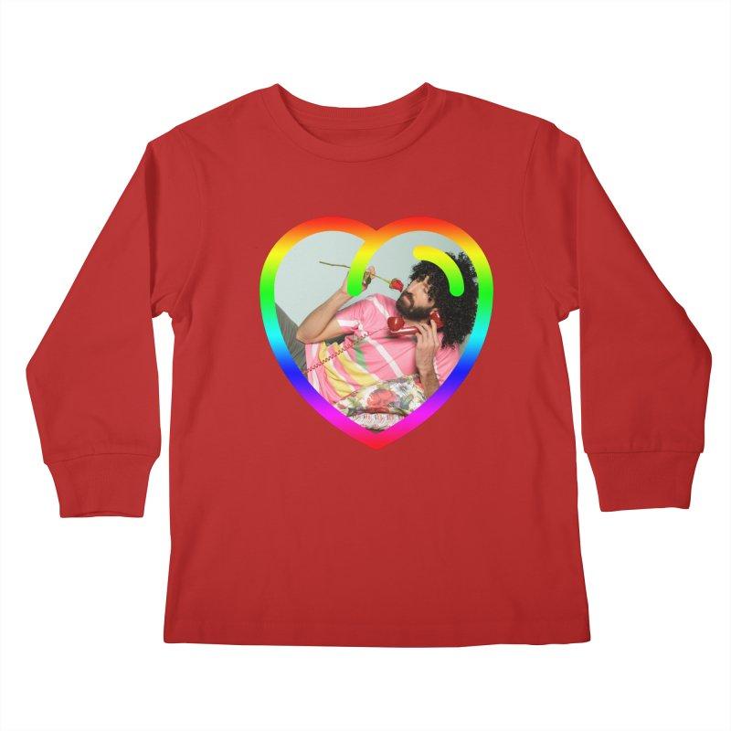 TALK TO ME LIKE LOVERS DO! Kids Longsleeve T-Shirt by Robotboot Artist Shop