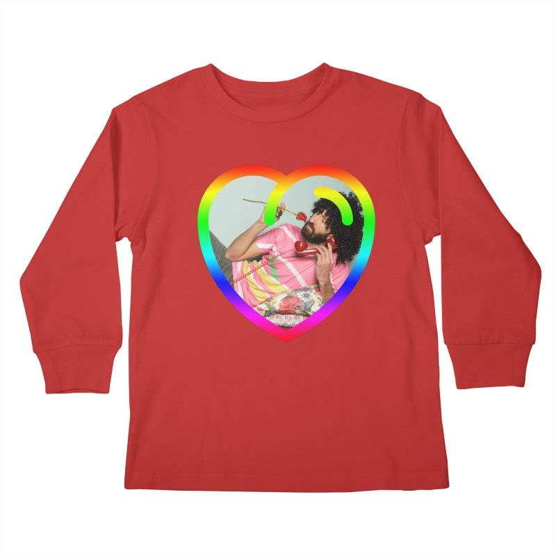 TALK TO ME LIKE LOVERS DO! Kids Longsleeve T-Shirt by Robotboot Artist Shop