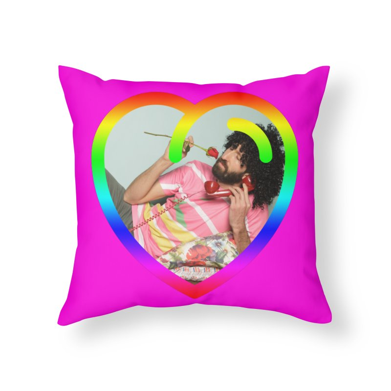 TALK TO ME LIKE LOVERS DO! Home Throw Pillow by Robotboot Artist Shop