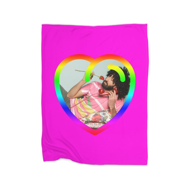 TALK TO ME LIKE LOVERS DO! Home Blanket by Robotboot Artist Shop