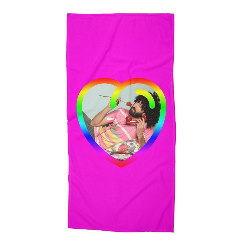 TALK TO ME LIKE LOVERS DO! Accessories Beach Towel by Robotboot Artist Shop