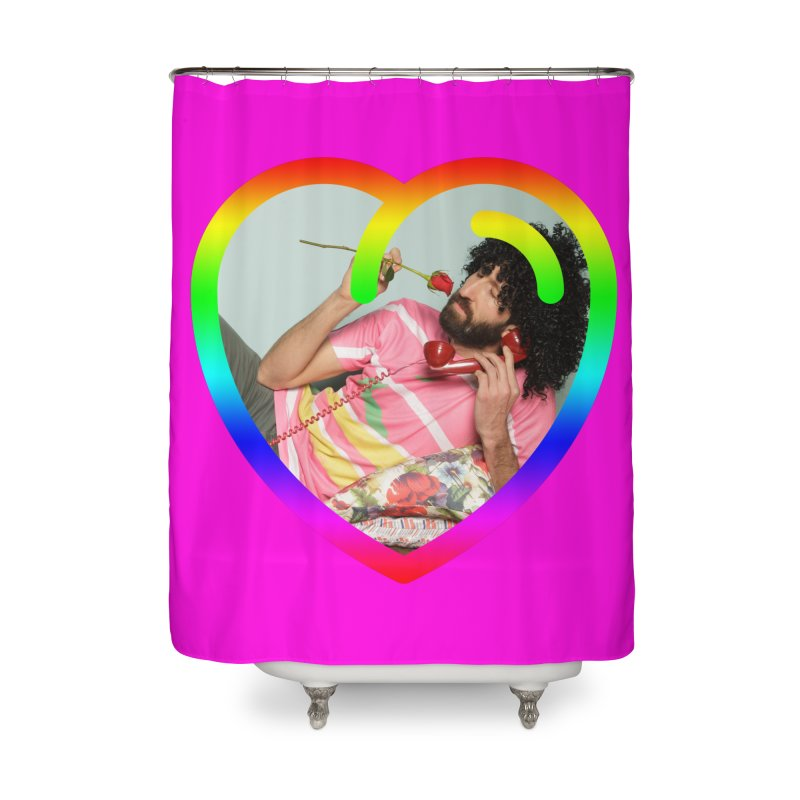 TALK TO ME LIKE LOVERS DO! Home Shower Curtain by Robotboot Artist Shop