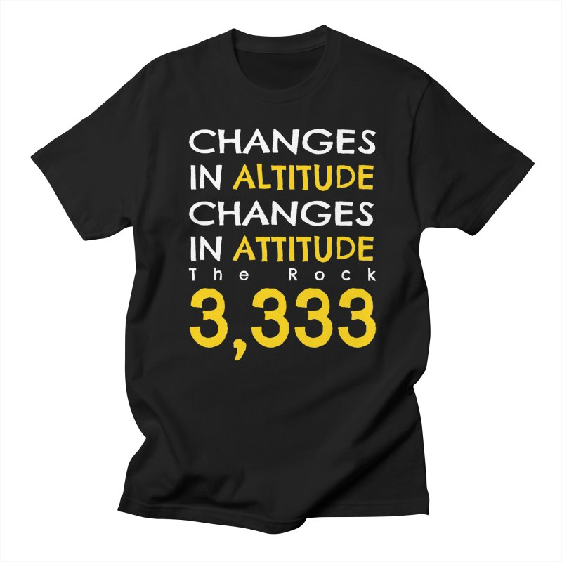 The Rock - Changes in Altitude Changes in Attitude Men's T-Shirt by Collin's Shop