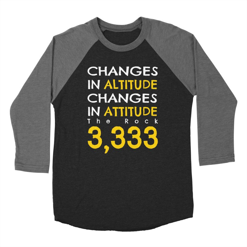 The Rock - Changes in Altitude Changes in Attitude Women's Longsleeve T-Shirt by Collin's Shop