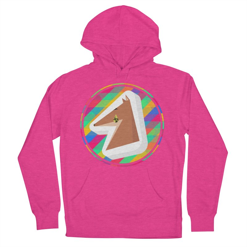 Toxic Fox Women's French Terry Pullover Hoody by Collin's Shop