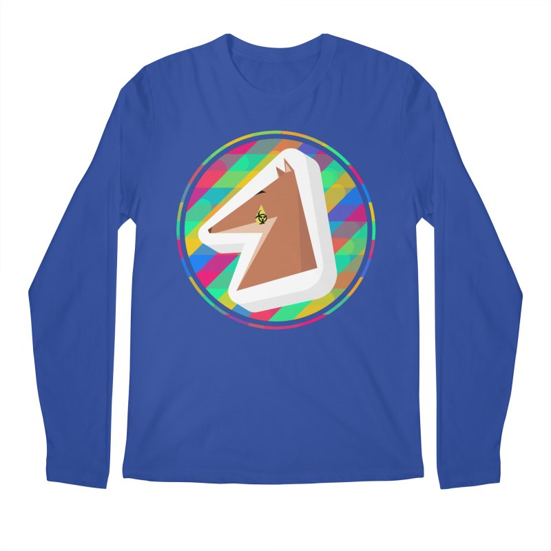 Toxic Fox Men's Regular Longsleeve T-Shirt by Collin's Shop