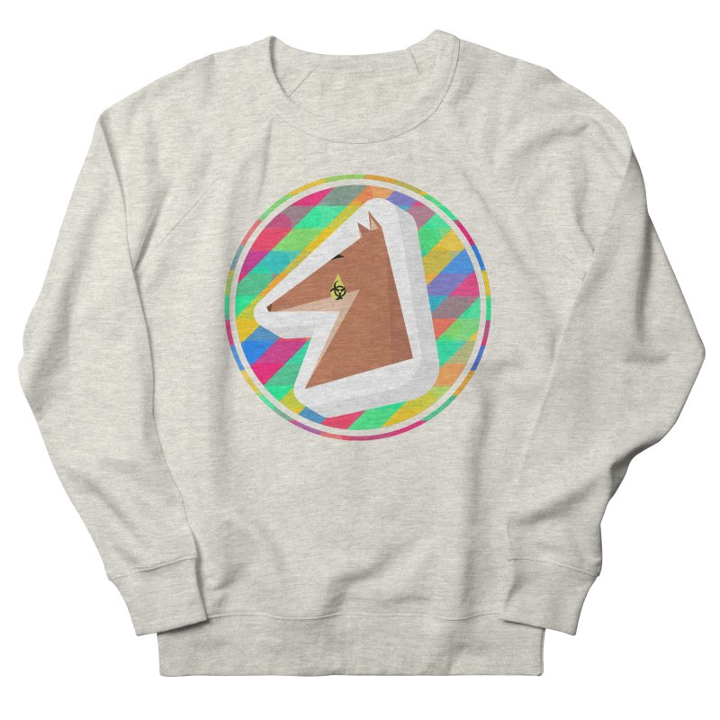 Toxic Fox Women's French Terry Sweatshirt by Collin's Shop