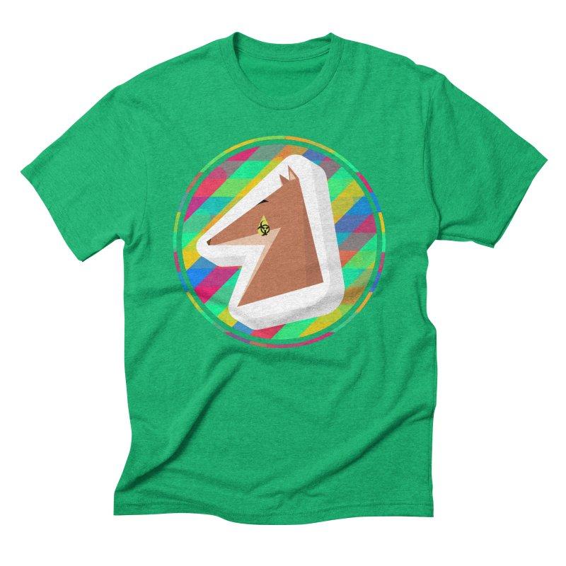 Toxic Fox Men's Triblend T-Shirt by Collin's Shop