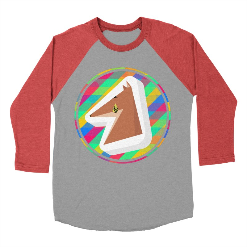 Toxic Fox Women's Baseball Triblend Longsleeve T-Shirt by Collin's Shop