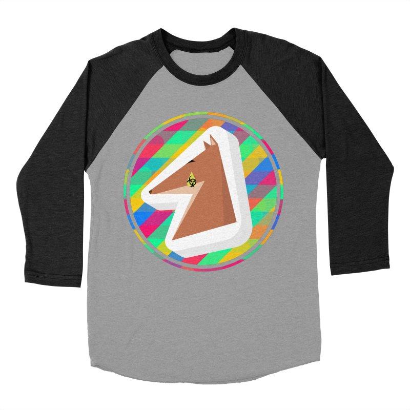 Toxic Fox Men's Baseball Triblend Longsleeve T-Shirt by Collin's Shop