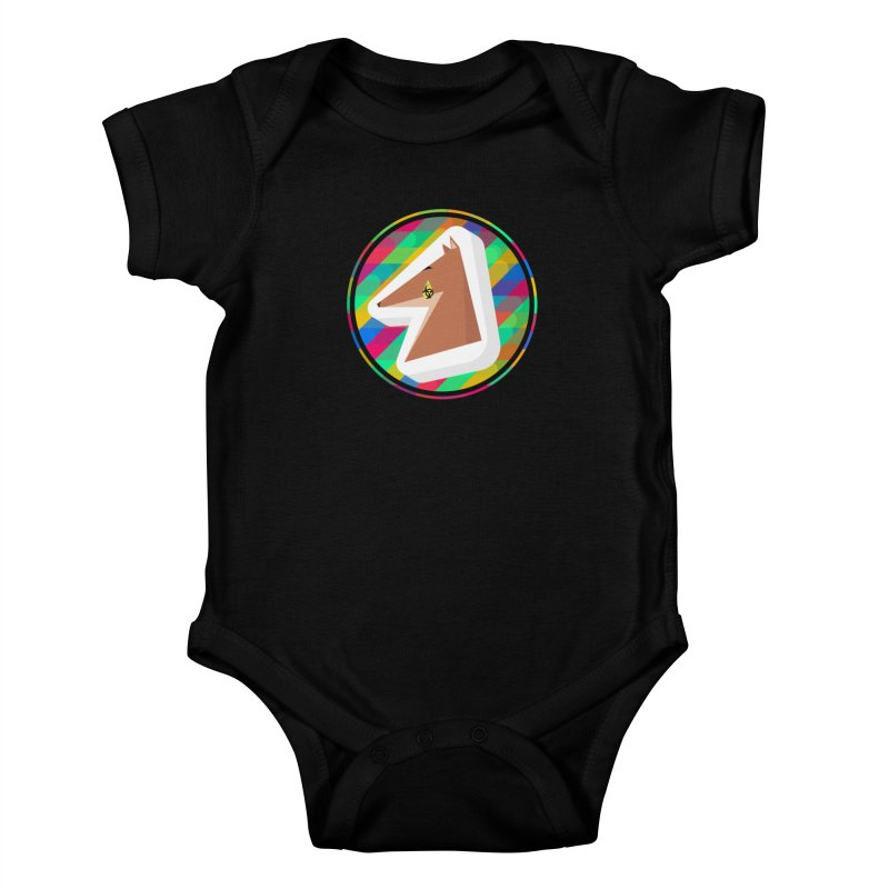 Toxic Fox Kids Baby Bodysuit by Collin's Shop