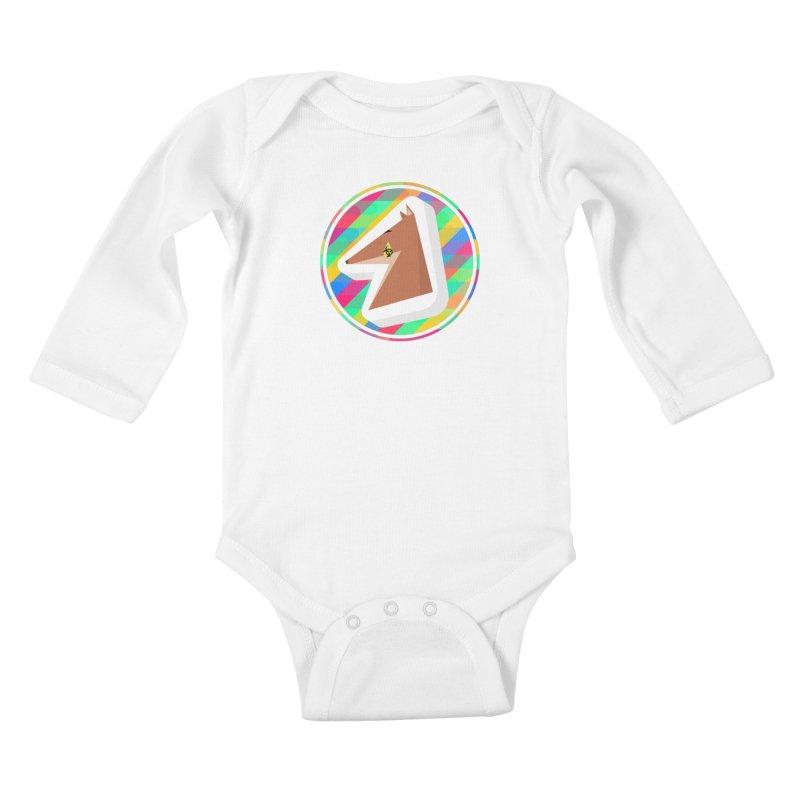 Toxic Fox Kids Baby Longsleeve Bodysuit by Collin's Shop