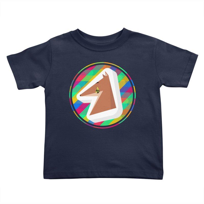 Toxic Fox Kids Toddler T-Shirt by Collin's Shop