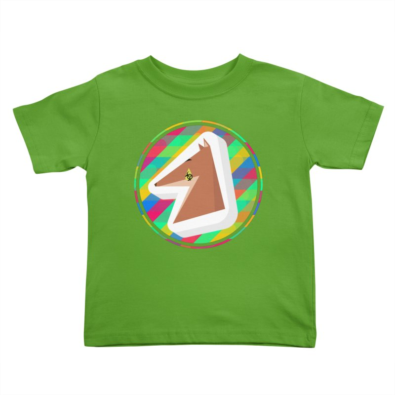 Toxic Fox Kids Toddler T-Shirt by Collin's Shop