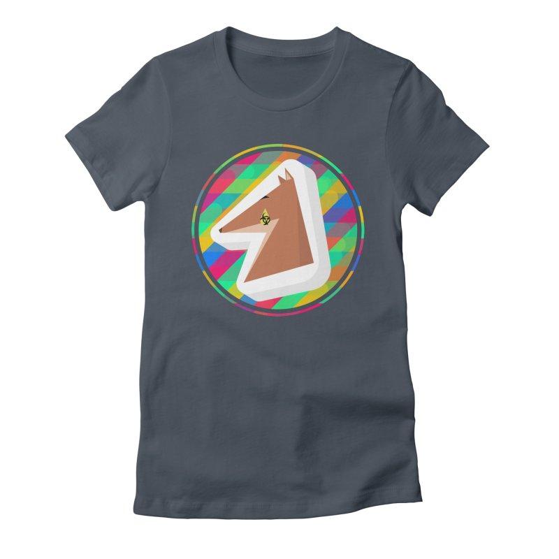 Toxic Fox Women's T-Shirt by Collin's Shop