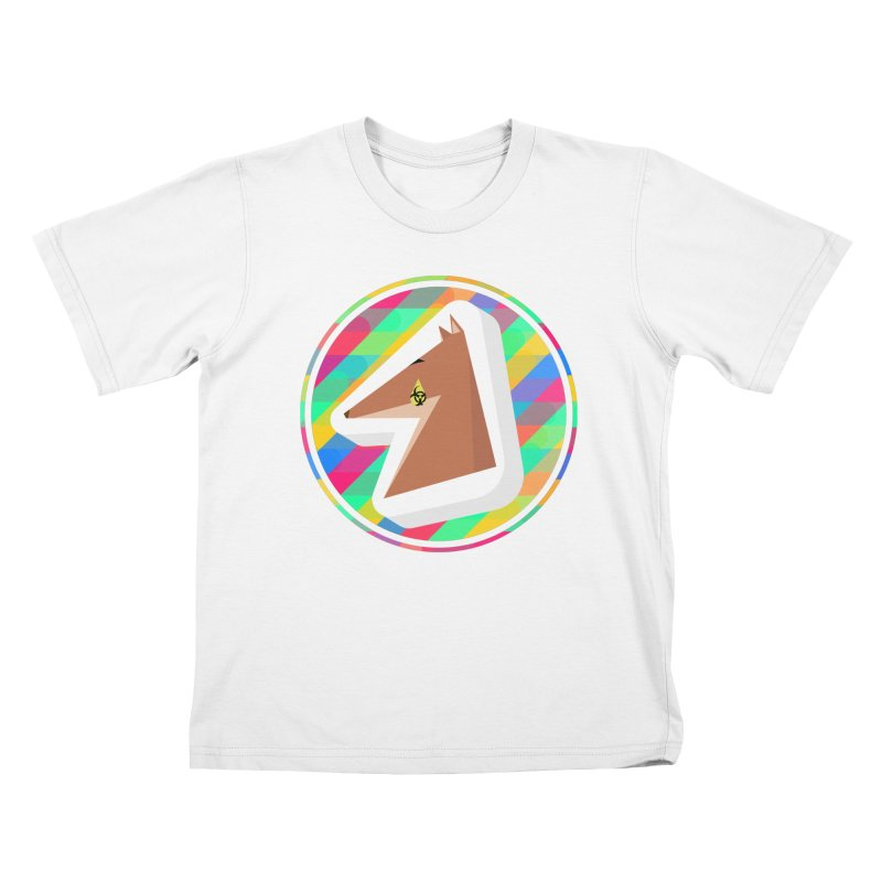 Toxic Fox Kids T-Shirt by Collin's Shop