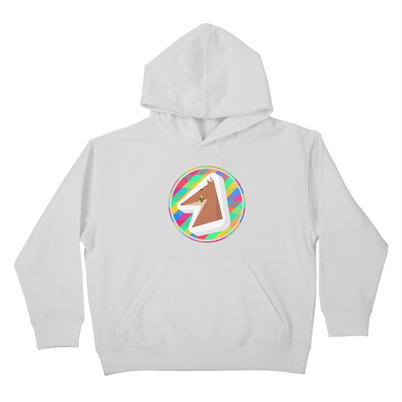 Toxic Fox Kids Pullover Hoody by Collin's Shop