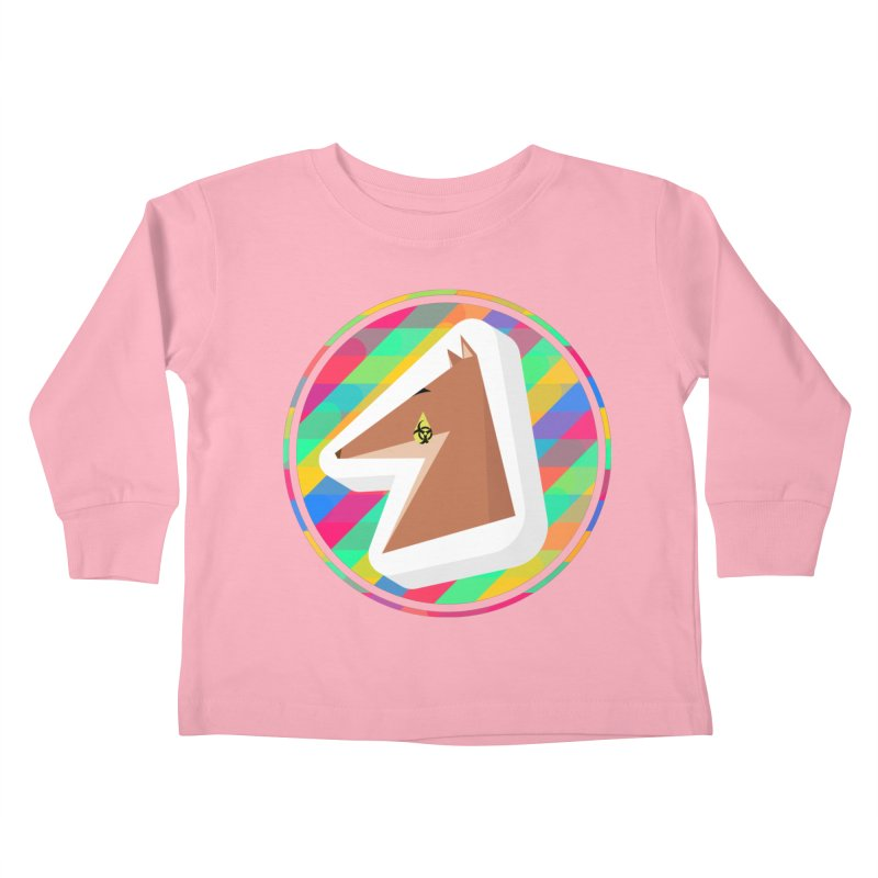Toxic Fox Kids Toddler Longsleeve T-Shirt by Collin's Shop