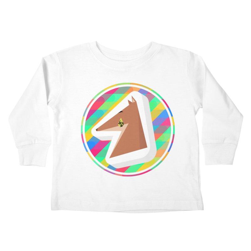 Toxic Fox Kids Toddler Longsleeve T-Shirt by Collin's Shop