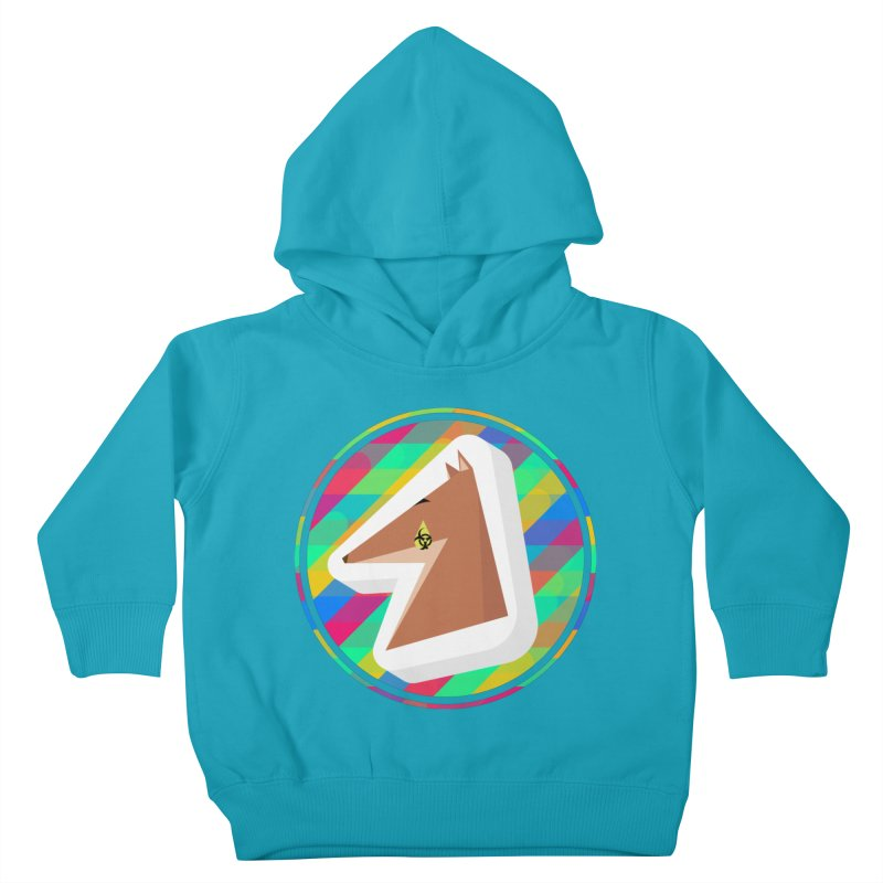 Toxic Fox Kids Toddler Pullover Hoody by Collin's Shop