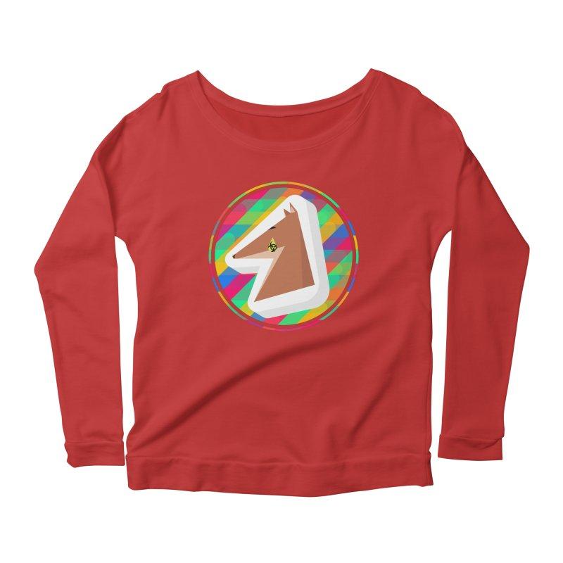 Toxic Fox Women's Scoop Neck Longsleeve T-Shirt by Collin's Shop