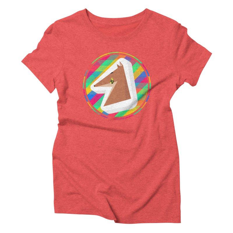 Toxic Fox Women's Triblend T-Shirt by Collin's Shop