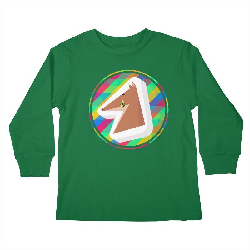 Toxic Fox Kids Longsleeve T-Shirt by Collin's Shop