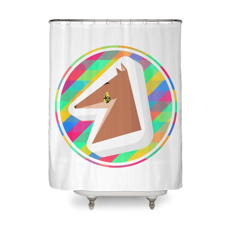 Toxic Fox Home Shower Curtain by Collin's Shop