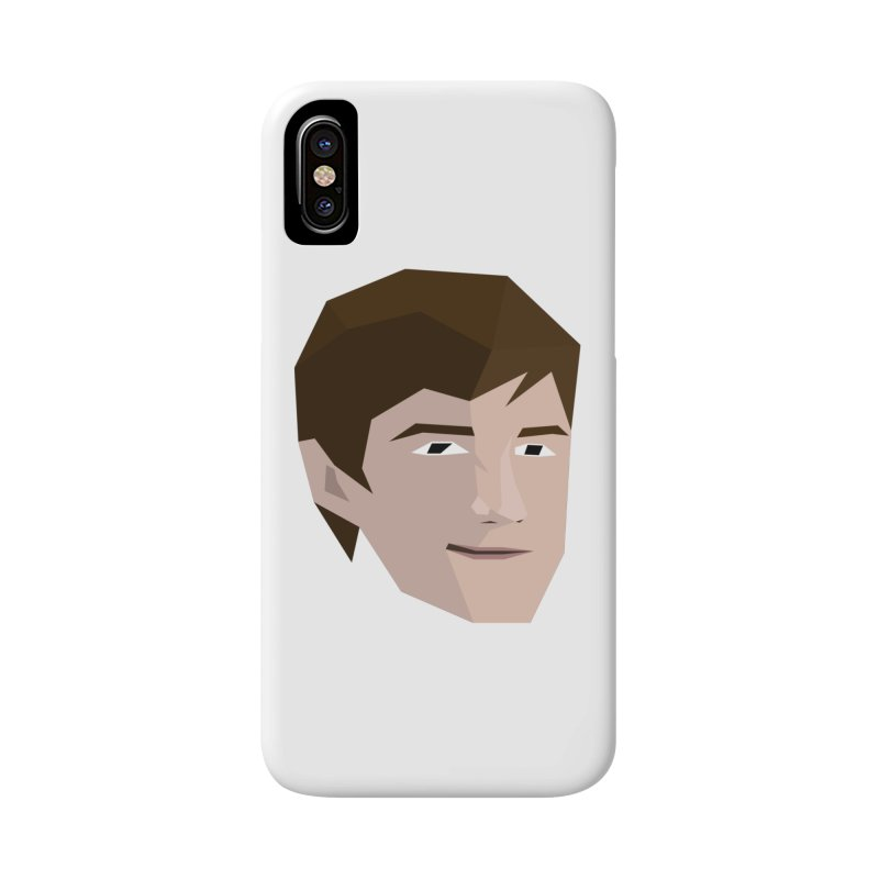 Chase Costner's Face Accessories Phone Case by Collin's Shop