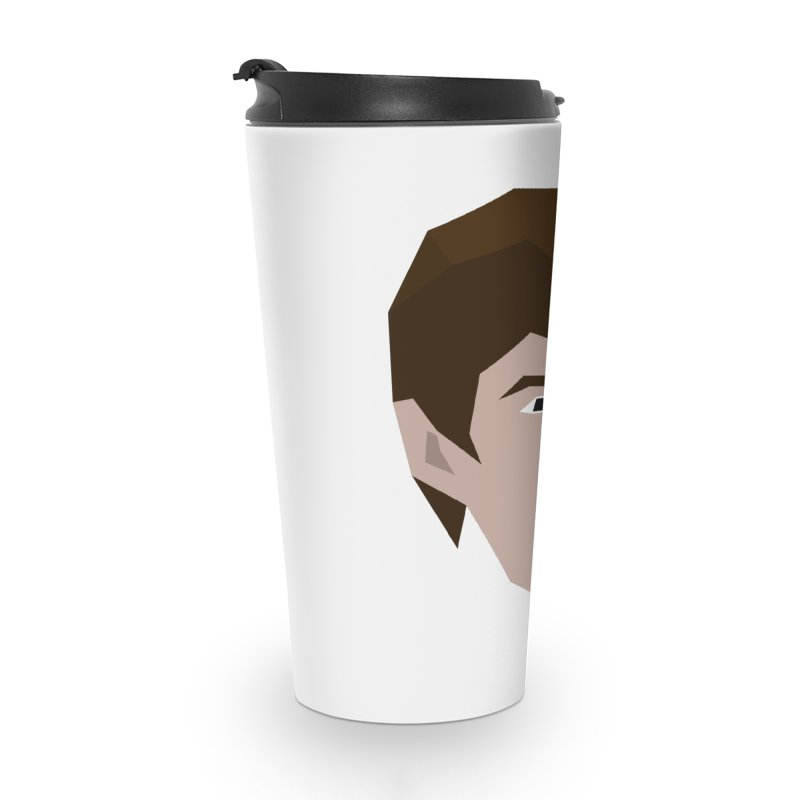 Chase Costner's Face Accessories Travel Mug by Collin's Shop