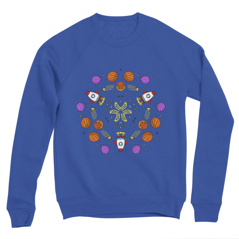 Symmetric Space Women's Sweatshirt by Colmena Ink's Shop