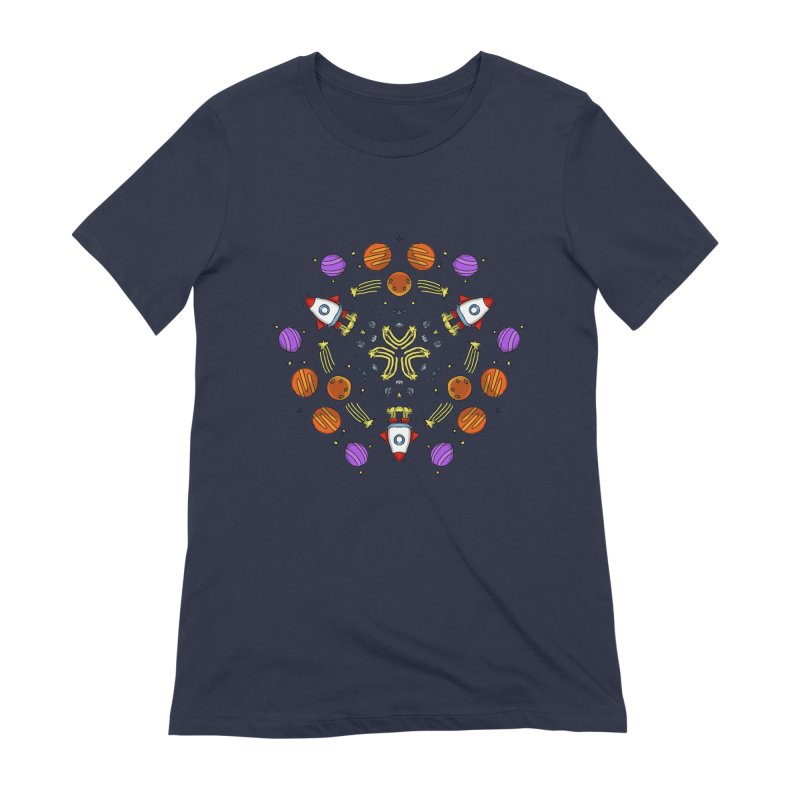 Symmetric Space Women's Extra Soft T-Shirt by Colmena Ink's Shop