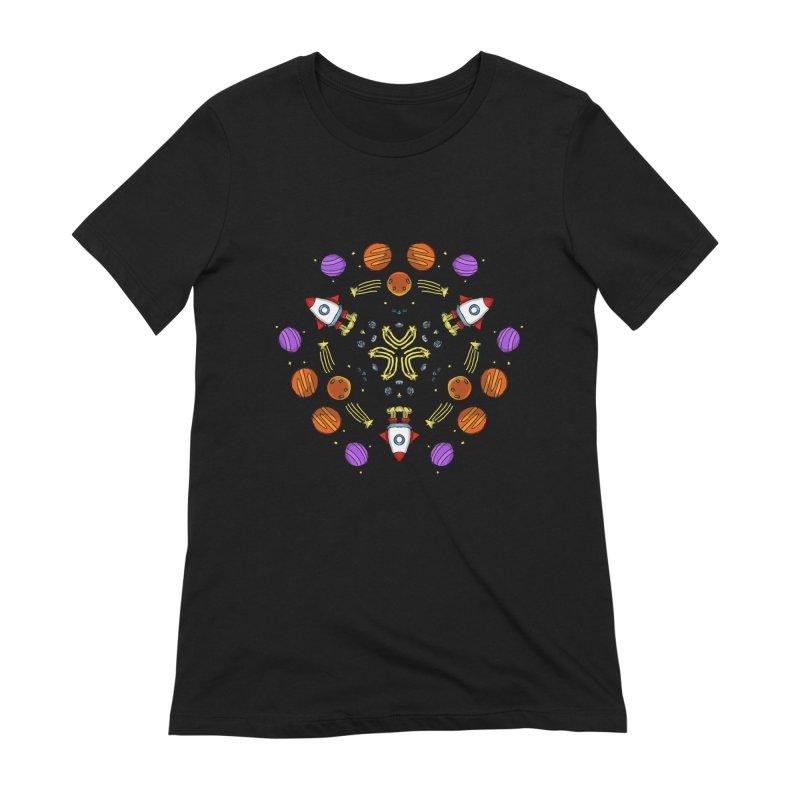 Symmetric Space Women's Extra Soft T-Shirt by Colmena Ink's Shop
