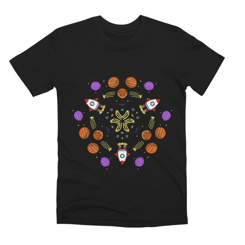 Symmetric Space Men's Premium T-Shirt by Colmena Ink's Shop