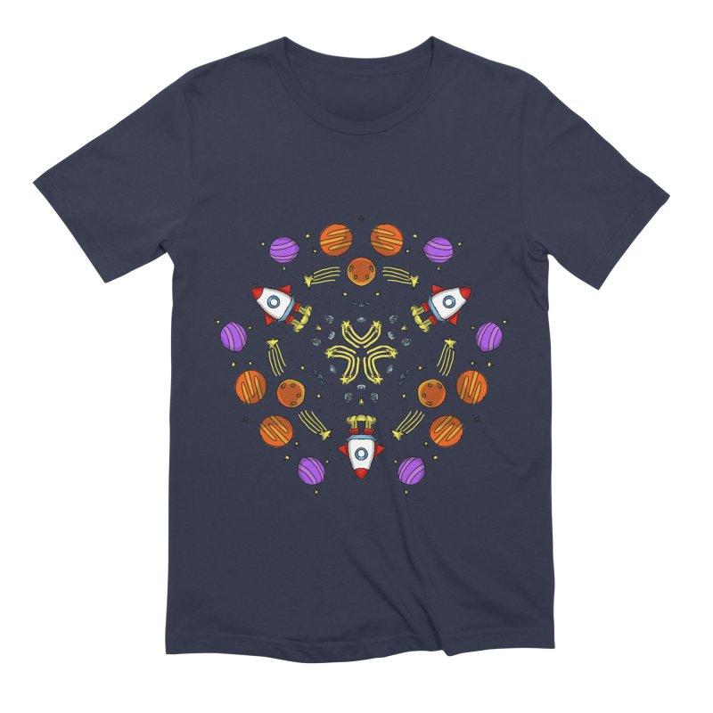 Symmetric Space Men's Extra Soft T-Shirt by Colmena Ink's Shop