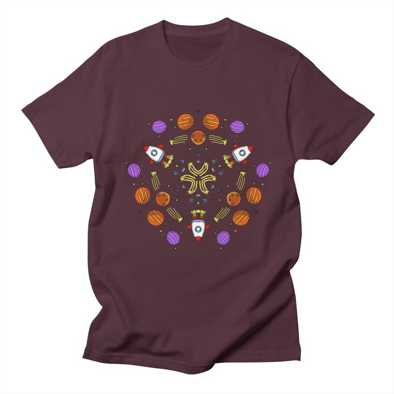 Symmetric Space Women's Regular Unisex T-Shirt by Colmena Ink's Shop