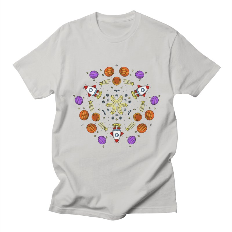 Symmetric Space Women's Regular Unisex T-Shirt by Colmena Ink's Shop