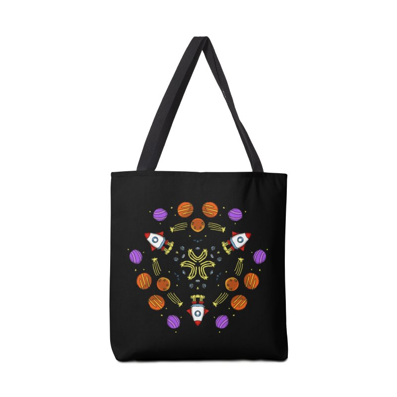 Symmetric Space Accessories Bag by Colmena Ink's Shop