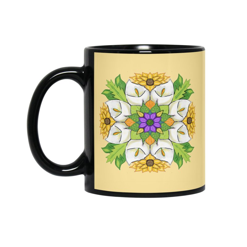 Florala Accessories Standard Mug by Colmena Ink's Shop