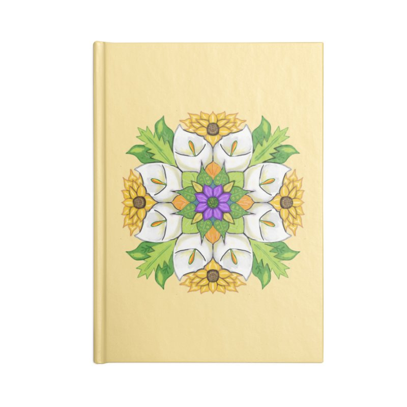 Florala Accessories Blank Journal Notebook by Colmena Ink's Shop