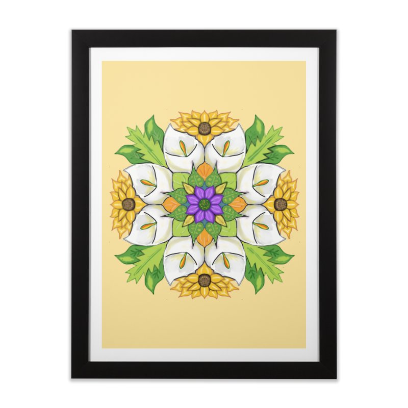 Florala Home Framed Fine Art Print by Colmena Ink's Shop