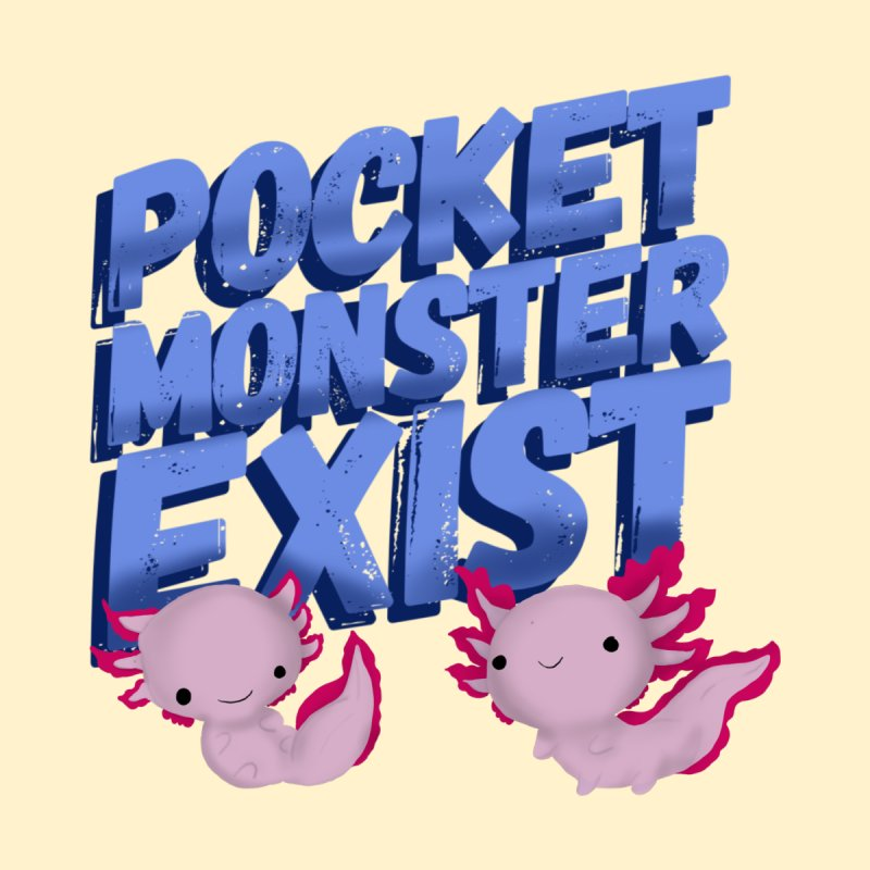 Pocket Monster by Colmena Ink's Shop