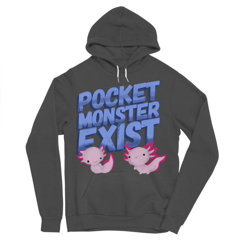 Pocket Monster Men's Sponge Fleece Pullover Hoody by Colmena Ink's Shop