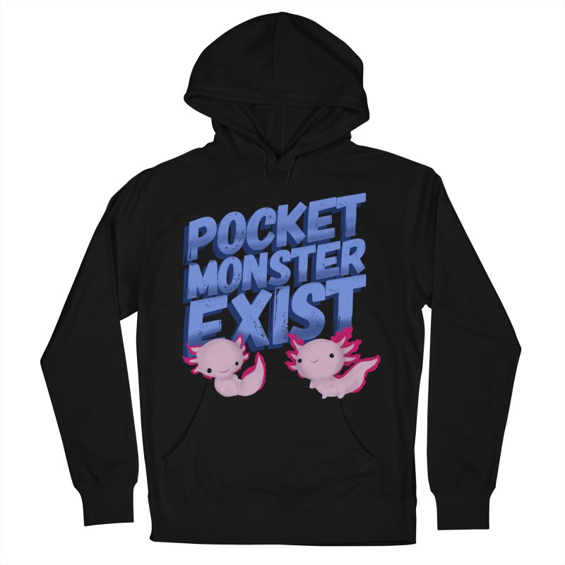 Pocket Monster Women's French Terry Pullover Hoody by Colmena Ink's Shop