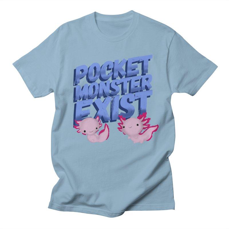 Pocket Monster Women's Regular Unisex T-Shirt by Colmena Ink's Shop